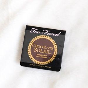 TooFaced Chocolate Soleil Medium/Deep Matte Bronze